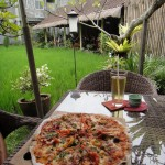 Photo Jolts! How is this Ricefield Pizza a Metaphor for Charity?