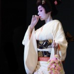 Photo Jolts! How is this Geisha a Metaphor for Charity?