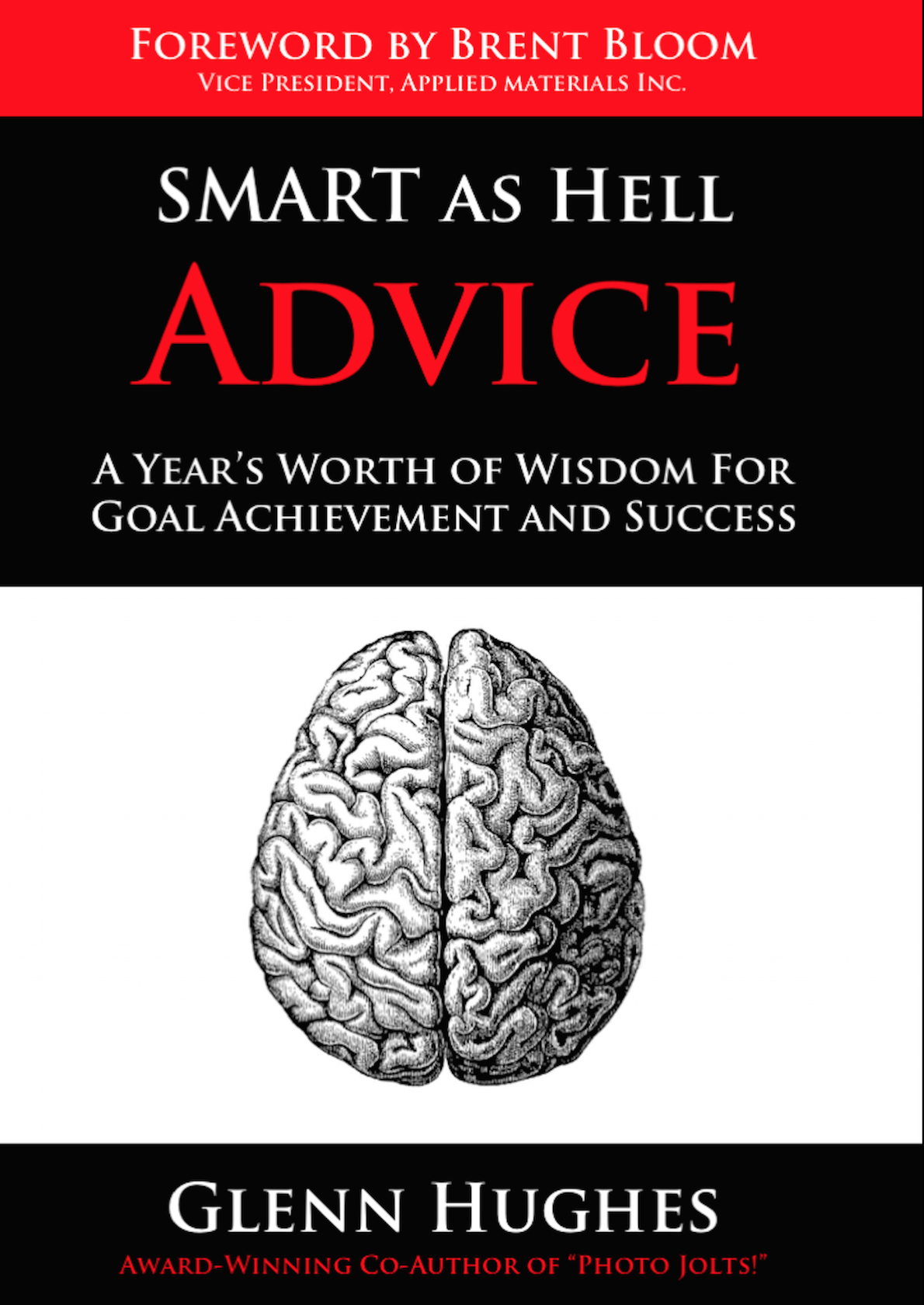 Front Cover for SMART as Hell Advice by Glenn Hughes